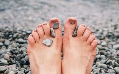 3 types de pieds ?